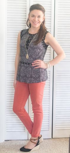 Daniel Rainn Ariel Skirt Hem Top Liverpool Adele Skinny Jean Stitch Fix. In love with this whole outfit!