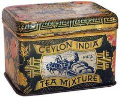 Ceylon India Tea Box