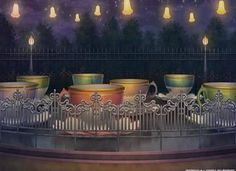 Amusement Park, Scenery, Background, Anime Background, Anime Scenery, Visual Novel Scenery, Visual Novel Background