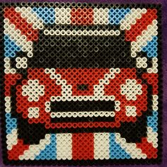 car minicooper England perler red mini cooper bmv