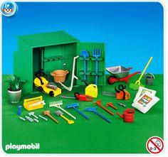 Garden shed set // playmobil