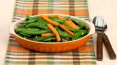 Sauteed Carrots and Sugar Snap Peas