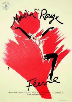 this splash of colour is cool Cabaret, Moulin Rouge Paris, Le Moulin, Vintage Ads, Vintage Posters, Art Posters, Art Rouge, Inktober, Paris Poster