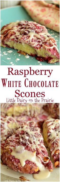 Thanks to the food processor, making fresh scones is easier than you thought! White chocolate and raspberry happens to be a fabulous combination in scones too!