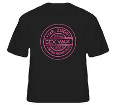Mr. Zogs Sex Wax Summer Black T Shirt