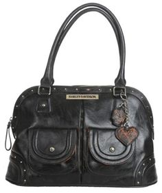 For my house calls Harley Davidson Purses, Harley Davidson Gear, Harley Davidson Merchandise, Harley Gear, Heavy Metal Fashion, Biker Gear, Lady Biker, Biker Chick, Balenciaga City Bag