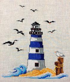 Cross Stitch Bookmarks, Cross Stitch Heart, Plastic Canvas Crafts, Plastic Canvas Patterns, Cross Stitching, Cross Stitch Embroidery, Cross Stitch Designs, Cross Stitch Patterns, Cross Stitch Landscape