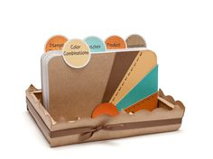 Rolodex designed for collecting creative ideas, favorite recipes, or as a unique mini-album. #CTMH