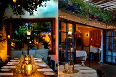 The Daily Meal has issued a ranking of the 20 most romantic restaurants in USA. At #1 is The Little Door in Los Angeles.