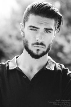 Combine hairstyles with a beard – 5 trendy hairstyles and the right beard length - New Hair Styles 2018 Undercut Hairstyles, Trendy Hairstyles, Straight Hairstyles, Hairstyle Short, Hairstyles 2016, Hairstyle Ideas, Undercut Men, Short Undercut, Summer Hairstyles