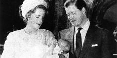 Rare Princess Diana Photograph Released. The photograph shows the future Princess on her Christening day in the August of 1961 in the arms of Lord and Lady Althorpe.