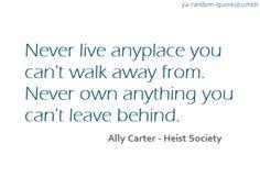 ya book quotes | ... ya random quotes # ally carter # heist society # ya quotes # book