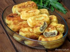 Farszynki Babci B Food, Food Porn, Good Food, Yummy Food, Veggie Recipes, Beef Recipes, Great Recipes, Cooking Recipes, Street Food
