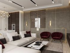 Marsala apartment on Behance