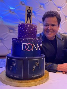 Donny Osmond, Birthday Cake, Desserts, Food, Tailgate Desserts, Deserts, Birthday Cakes, Essen, Postres