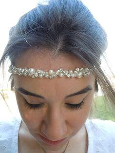 Bridal Headband /  Bridal Hair Accessory Wedding by weddingtrend
