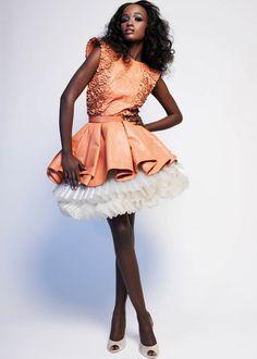 Bruna Ndiaye - Italian Model / Mannequin sénégalaise / Senegalese model / Mannequin africaine / African model