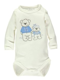 Name It Boys Bear Bodysuit | Very.co.uk