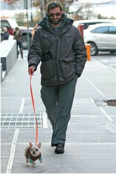 Hugh Jackman with Peaches - yet another reason he's my #1