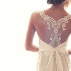 Lace racer-back wedding dress : Alfred Angelo