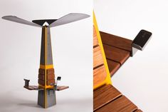 Charge Yourself: Solar-Powered Charging Stations To Recharge Our Phones And Minds