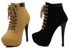 b5248eb055d Trendy boot style platform high heels for the modern woman - Sexy stylish  boot look
