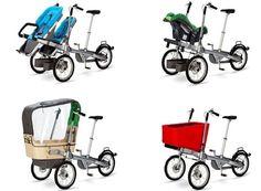 Testissä: Strolla lastenkuljetuspyörä – pyörä, joka muuttuu rattaiksi | Tavarafillari.fi