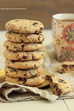 Dans la cuisine de Sophie: Cookies amandes, pistaches & chocolat