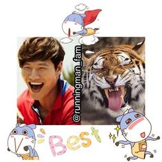 Instagram photo by runningman_fam - Brothers~  #rm #rmedit #runningman #runningmanedit #kjk #kimjongkook #jongkook #kookie #tiger #sparta #spartace #commander