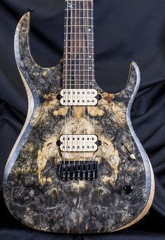 Kiesel Guitars Guitar Body, Guitar Art, Cool Guitar, Custom Electric Guitars, Custom Guitars, Kiesel, Bass, Music Rooms, Acoustic Guitars