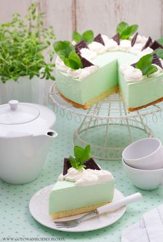 Polish Recipes, Middle Eastern Recipes, Food Cakes, Cheesecakes, Cake Cookies, Vanilla Cake, Mousse, Cake Recipes, Pudding