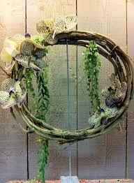Couronne fleurs - Actuel Flors Torcy http://www.actuelflors.com/