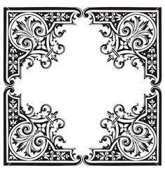 Free Vector | Antique frame engraving vector 149697 - by milalala on VectorStock®