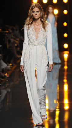 Elie Saab Spring/Summer 2015 via @stylelist | http://aol.it/1nSffuk