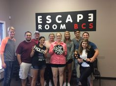 This group escaped Dr. Andrew's lab in 55 minutes!