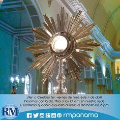 Adoración Eucarística en sede de Radio María! viernes 4 de abril de 2014