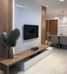 Trending Home Decoration Ideas Indian Living Rooms, Living Room Tv, Living Room Furniture, Cozy Living, Home Interior, Interior Design, Home Design, Design Ideas, Design Design