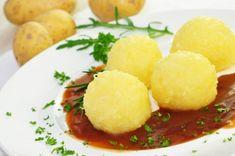 Kartoffelklöße, halb und halb, am liebsten von Pfanni