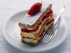 Mille-feuille aux fraises #qooq #dessert #fraises