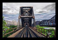 Memphis to Arkansas Bridge by scott mckillop on Capture Memphis // The Old bridges from Memphis to Arkansas