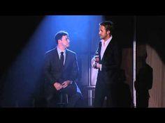 "Ryan Gosling and Jimmy Kimmel Sing ""You Always Hurt the One You Love""     soooooooo funnyyyyy!!!!!!"