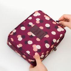 Portátil de Higiene Pessoal Cosmetic Bag Bolsa de Armazenamento de Maquiagem À Prova D' Água Compõem Organizador Lavagem de Viagem Kit de Design da Marca Bolsa Neceser