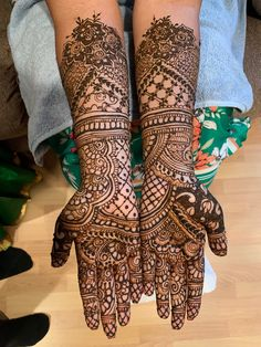 Bridal Mehndi Designs, Bridal Henna, Hand Henna, Hand Tattoos, Fashion, Moda, La Mode, Fasion, Fashion Models