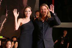 Angelina Jolie and Brad Pitt - 'World War Z' Japan Premiere