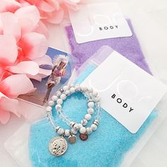 The perfect match.. our marble white luxe bracelets and @jarbody scrubs!!