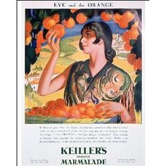 Keillers preserves Vintage Jam advert poster reproduction.