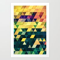 Art Print featuring ryx hyx by Spires
