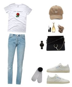 """""""Nonchalance"""" by mbany on Polyvore featuring mode, Reebok, Chloé, RE/DONE, Monki, Marc Jacobs, Christian Dior, Dolce&Gabbana et CLUSE"""