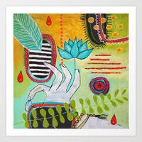 Art Prints by Christina Minasian | Society6