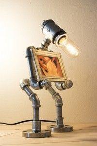 Robot sculpture.